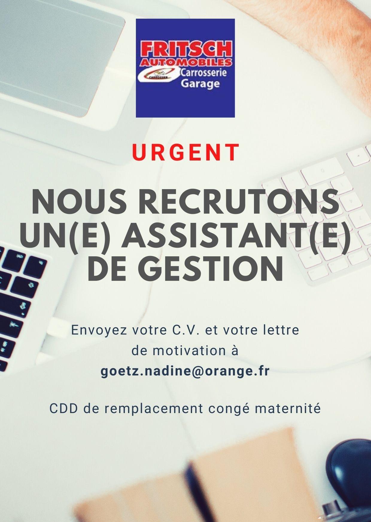Recrutement_urgent_Automobiles_Fritsch